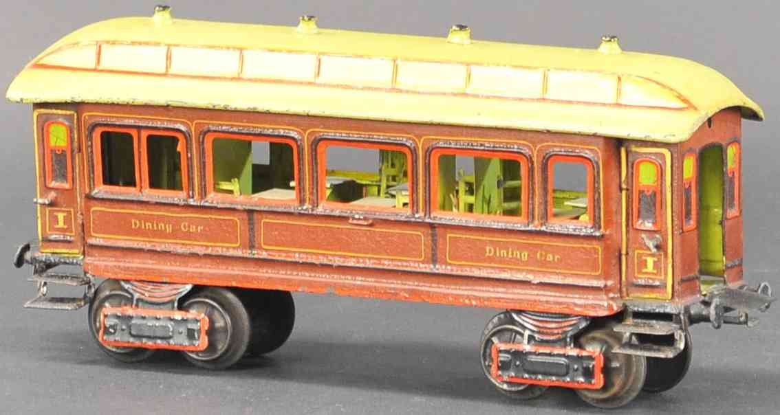 marklin maerklin 2964/1 railway toy dining car gauge 1
