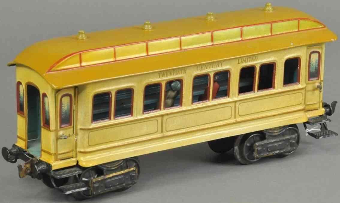 maerklin 2964 amerikanischer schlafwagen creme braun spur 1 twentieth century