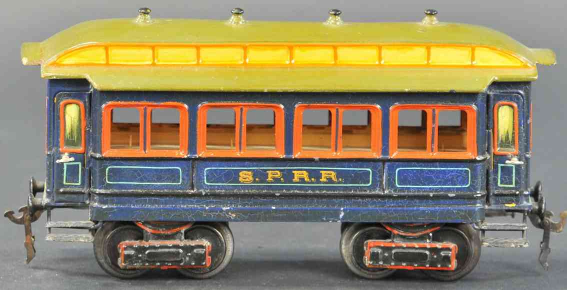 marklin maerklin 2964/1 sprr railway toy american passenger car blue gauge 1