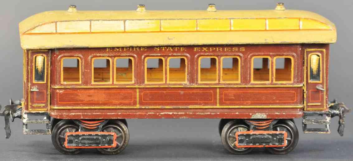 marklin maerklin 2964/1 empire state express railway toy passenger car brown gauge 1
