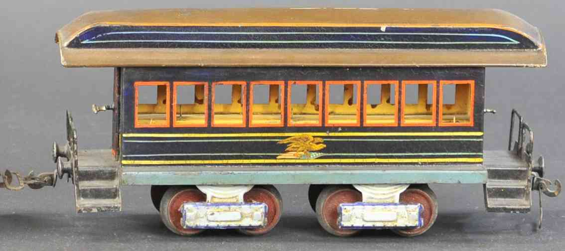 marklin maerklin railway toy american passenger car green gauge 1