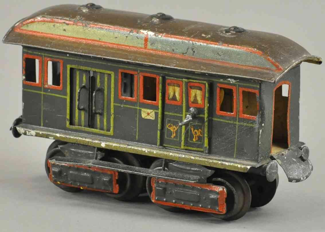 maerklin 1844/0 spielzeug eisenbahn alter postwagen spur 0