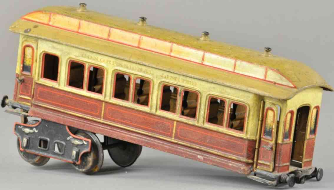 marklin maerklin 1882/II railway toy american passenger car congressional limited gauge II