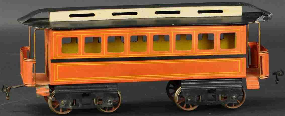 schoenner jean 175/15 s spielzeug eisenbahn personenwagen spur 3