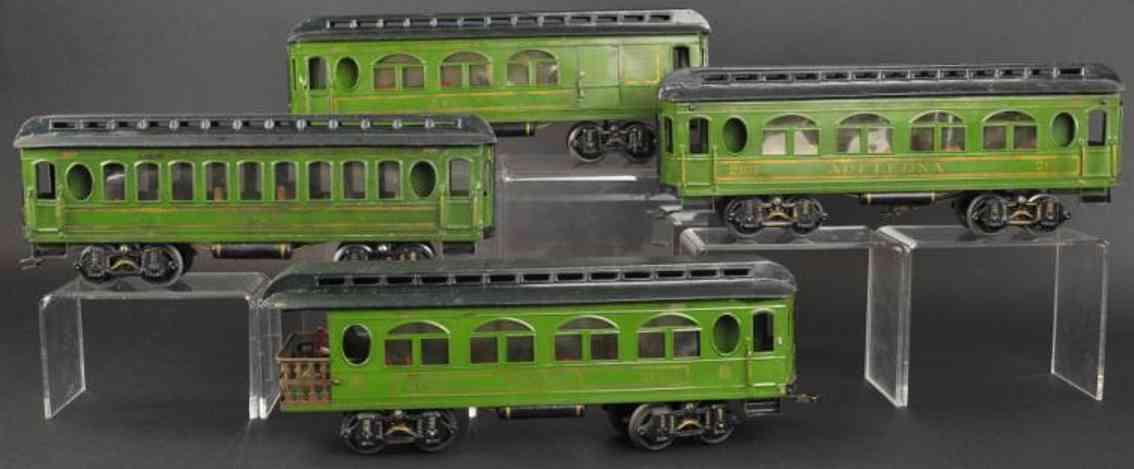 voltamp 2105 2107 2140 2141 vier personenwagen spur 2 inches
