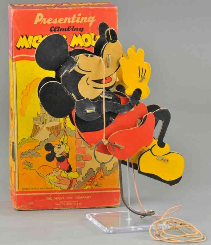 borgfeldt george & co celluloid toy donald duck on trapeze
