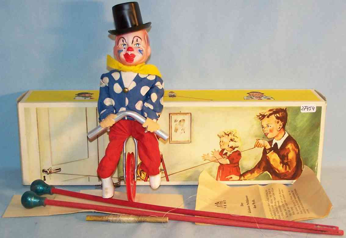 FEWO Fehn Wolf & Co Clown acrobat
