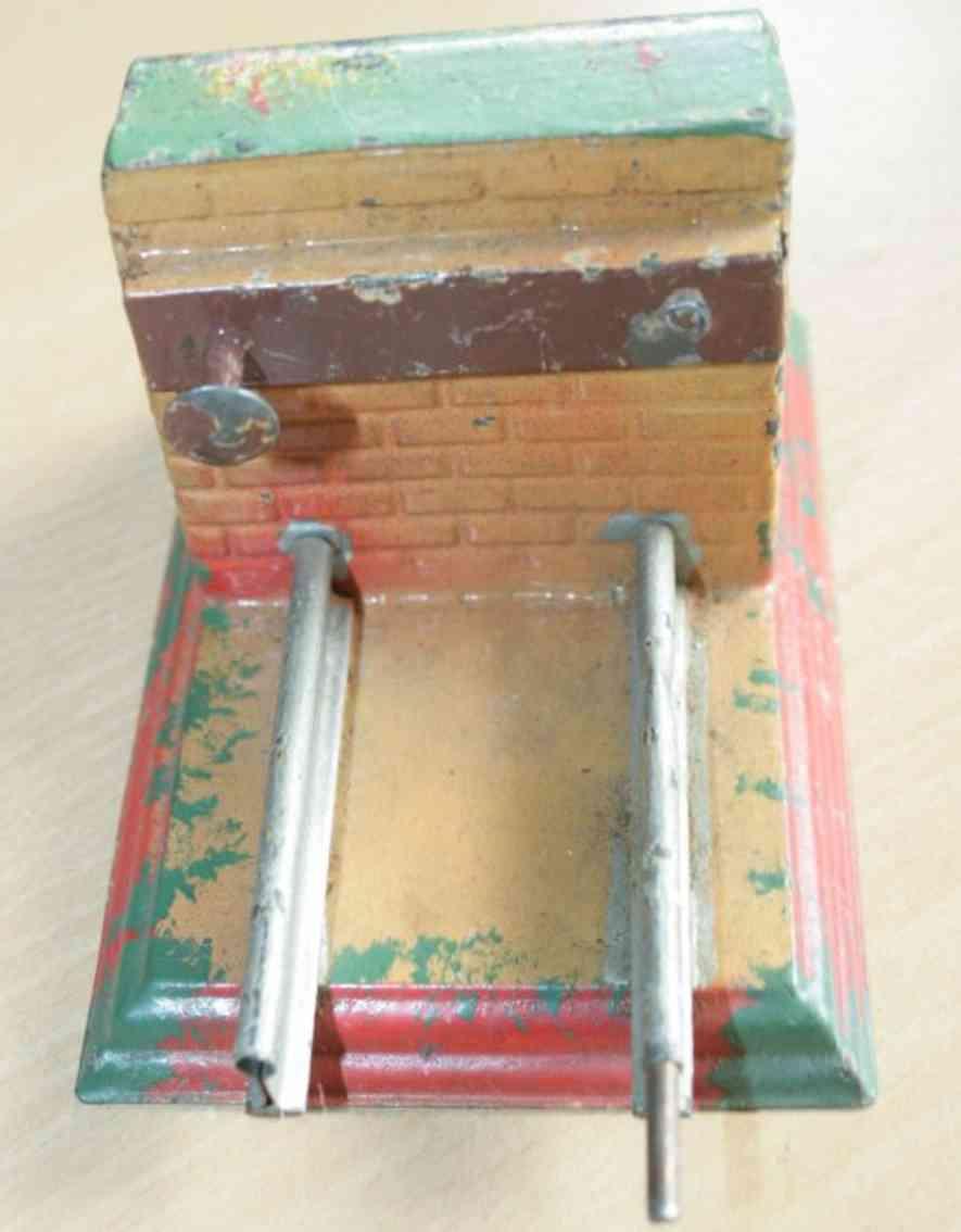 cabo 775 railway toy railway bumper masonry spring buffer clockwork  rail