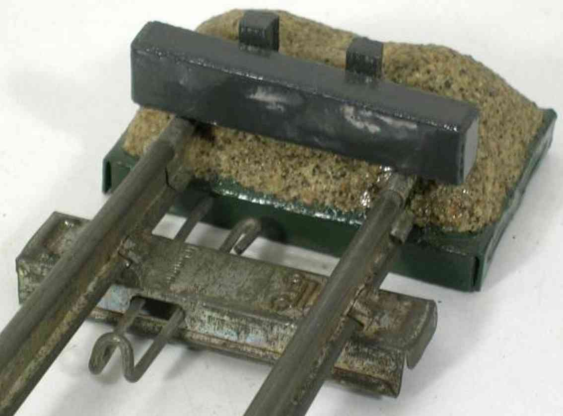 heidt klaus toy buffer railway buffer gauge  0