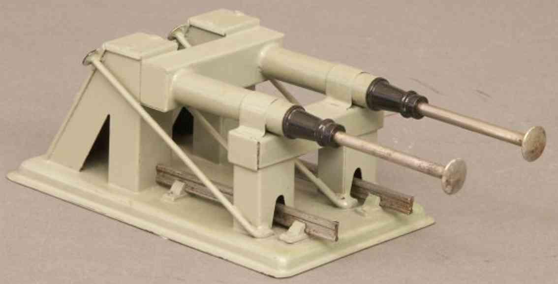 hornby 2 spielzeug eisenbahn prellbock hydraulischer prellbock für profilgleise in grau und schwarz