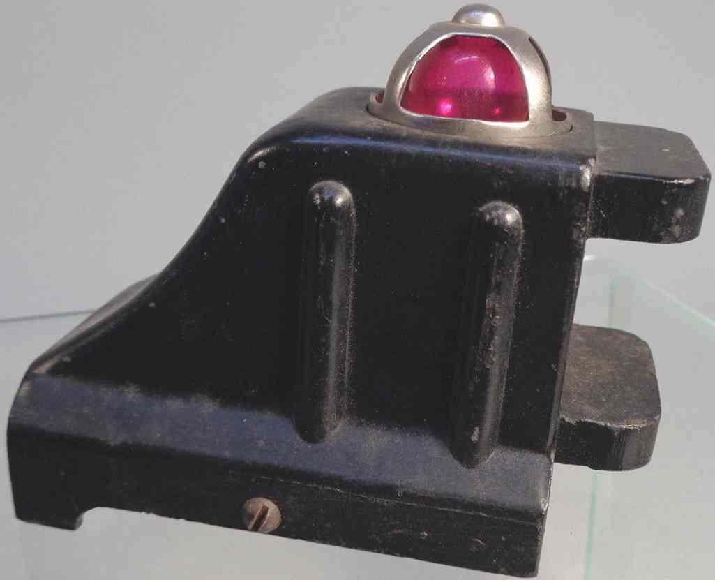 lionel 1025 spielzeug eisenbahn prellbock druckguss beleuchtet schwarz
