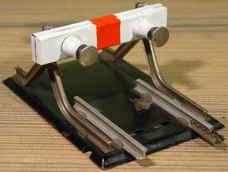 maerklin 2208/0 spielzeug eisenbahn prellbock mit federnden puffern spur 0