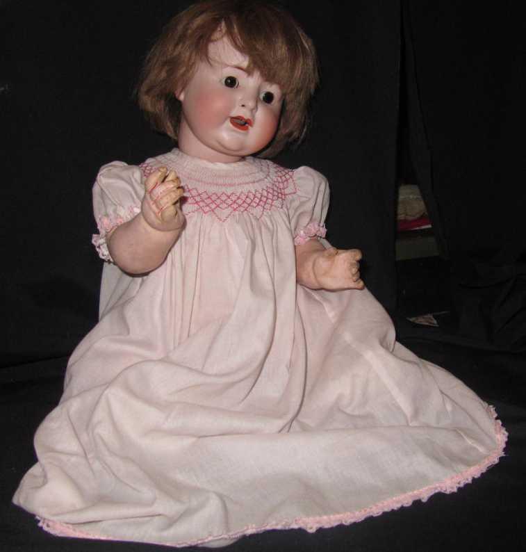Alt, Beck & Gottschalck 1361 55 Porzellankopf-Puppe
