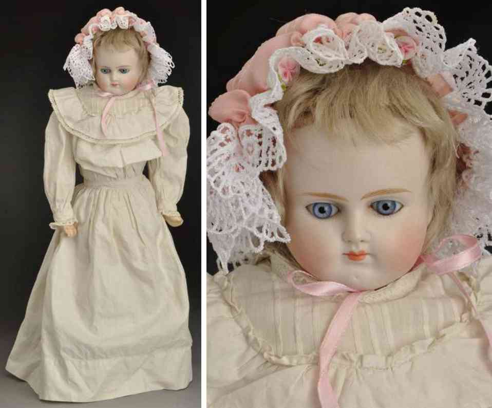 alt beck & gottschalck 639 9 bisque shoulder head child doll