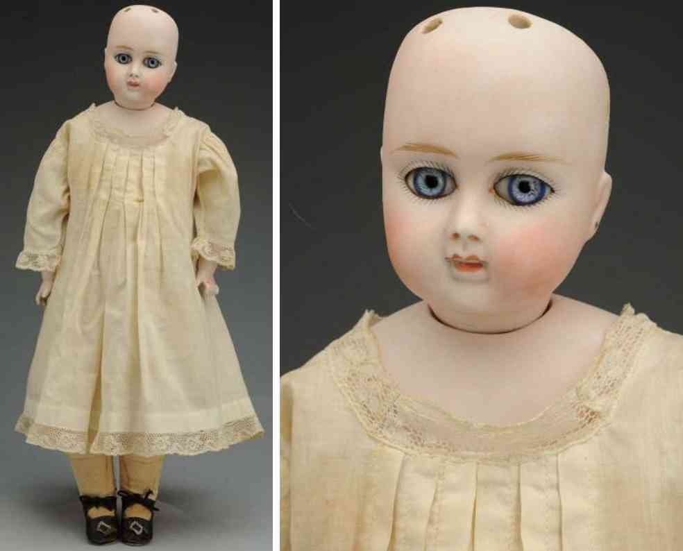 alt beck & gottschalck 911 6 bisque socket head child doll on  shoulder plate