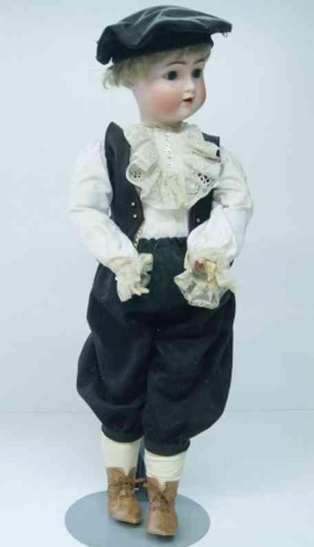 Alt Beck & Gottschalck AB 1362 4 Porcelain head doll boy
