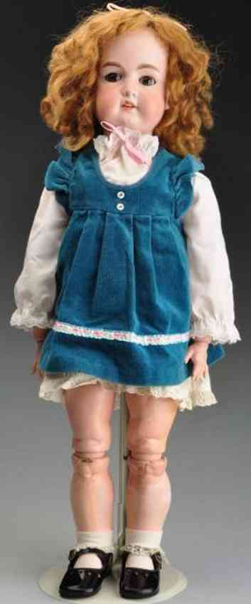 marseille armand 14 bisque socket head child doll