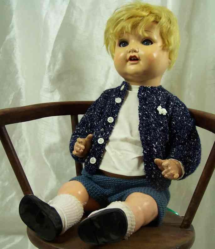 Marseille Armand 2966 8/11 Puppe komplett aus Masse