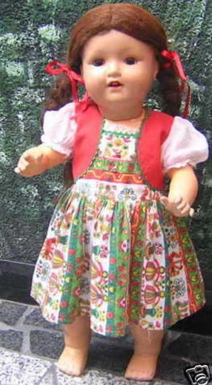 Marseille Armand 2966 8/11 Charakter Puppenmädchen