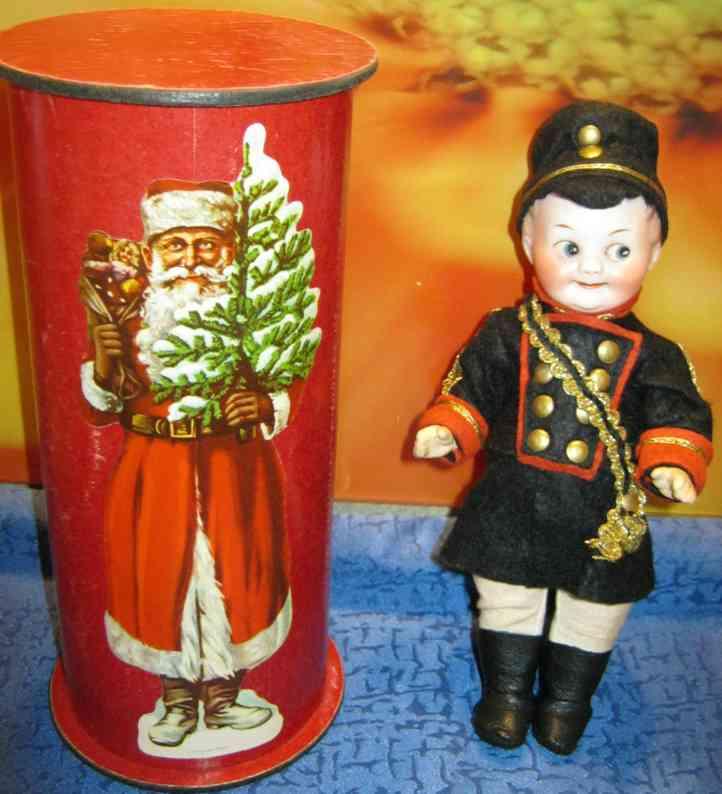 marseille armand 327 11/0soldatenpuppe googly candycontainer nikolaus