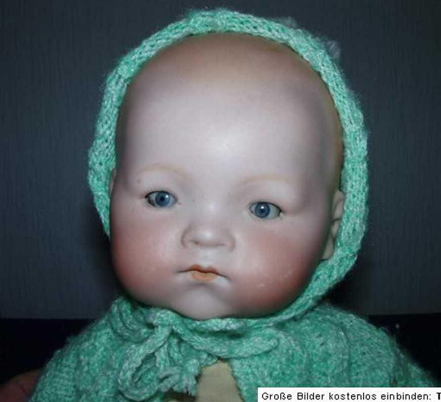 marseille armand 341/4  porzellanpuppe baby junge