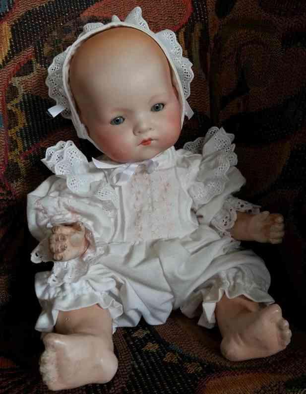 Marseille Armand 341/3K Baby mit Kurbelkopf aus Biskuitporzellan