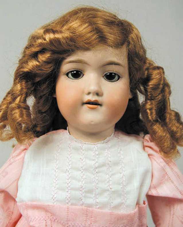 Marseille Armand 390 A6M Bisque socket head doll