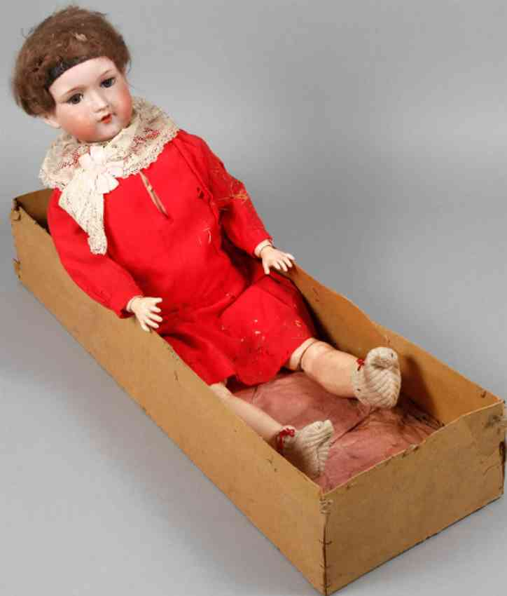 marseille armand 390 a12m porcelain head doll my gold pearl
