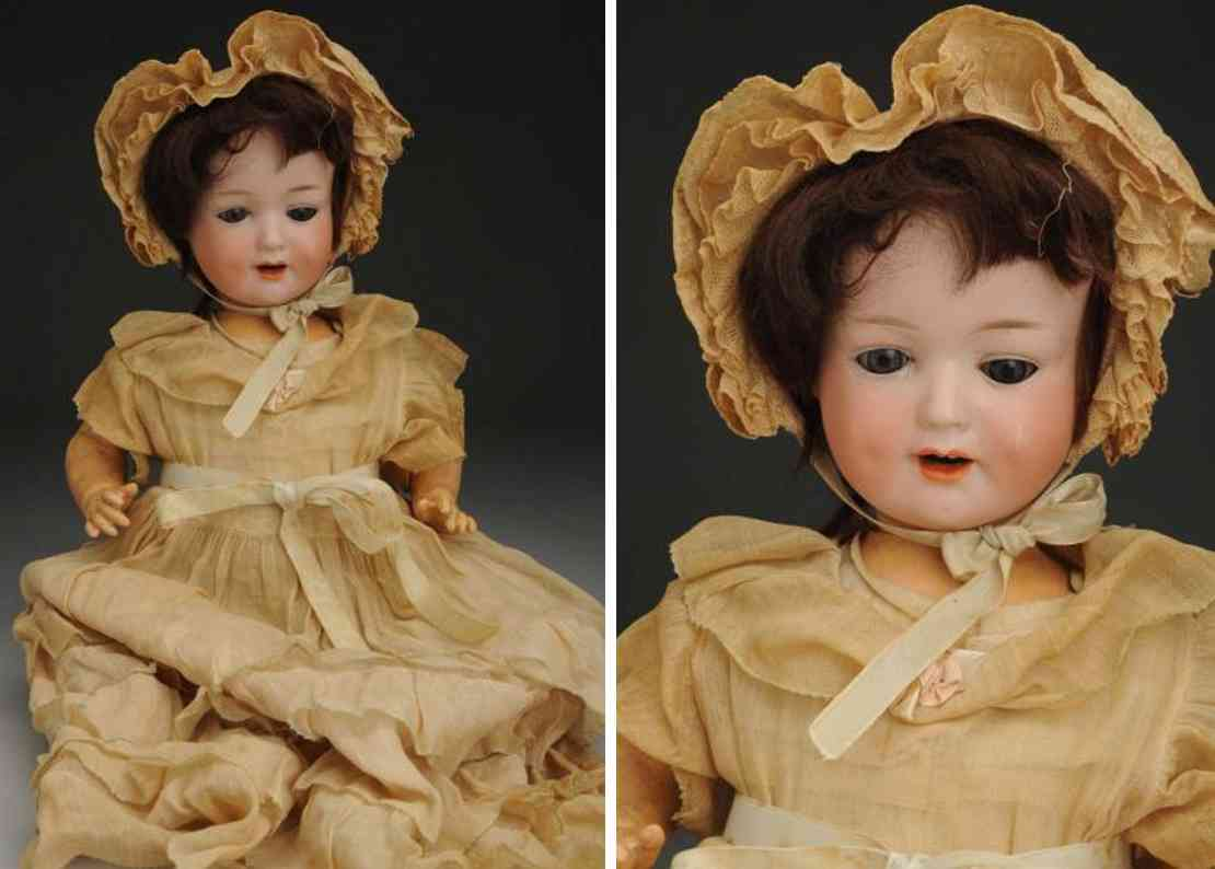 marseille armand 590 a6m bisque socket head character baby doll