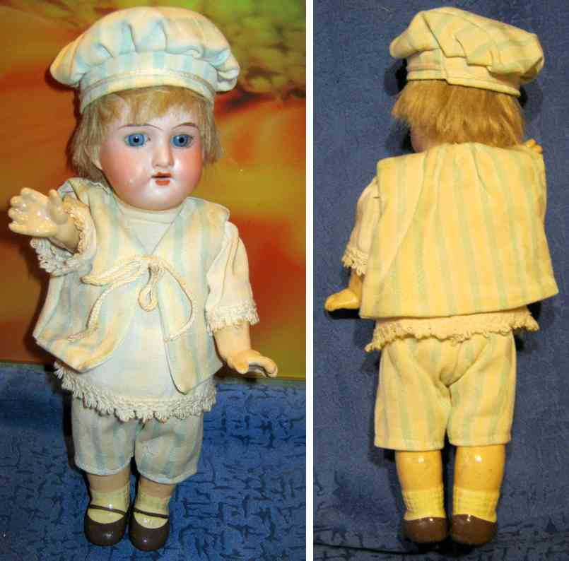 marseille armand 890 7/0 bisque socket head girl doll