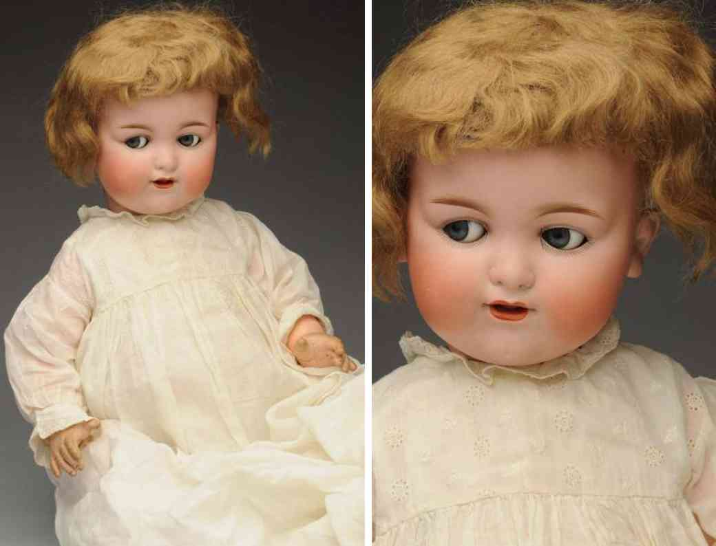 marseille armand 990 a14m bisque socket head characater baby doll