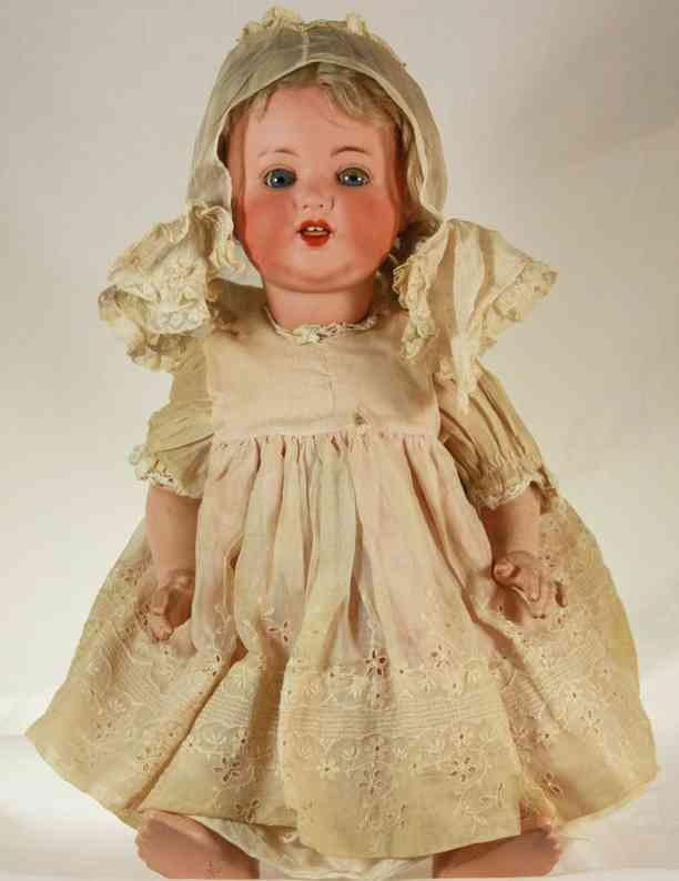 marseille armand 996 A9M dolls doll with working wobble tongue and working glass sleep eyes