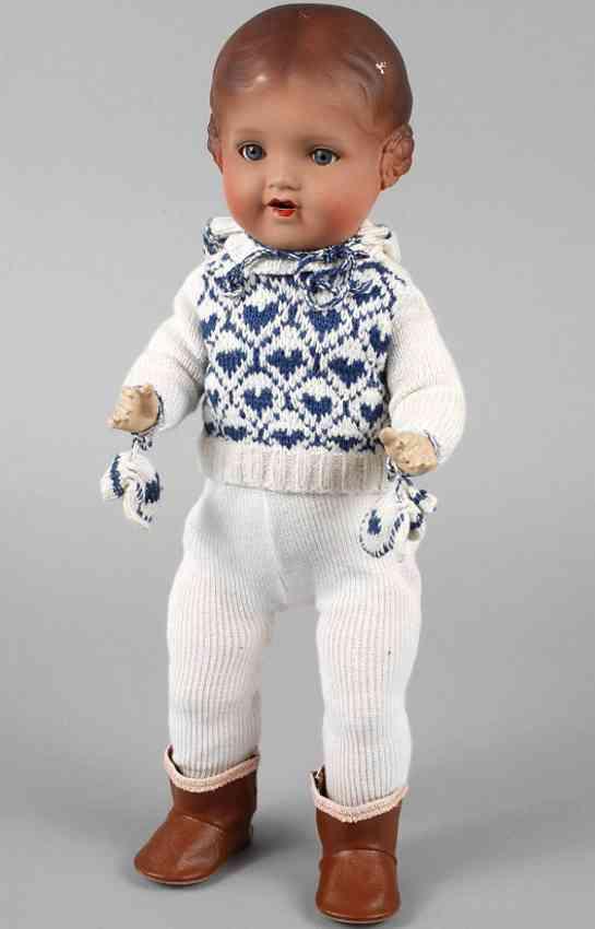 marseille armand am 266/2 1/2/5 porcelain head doll type baerbel