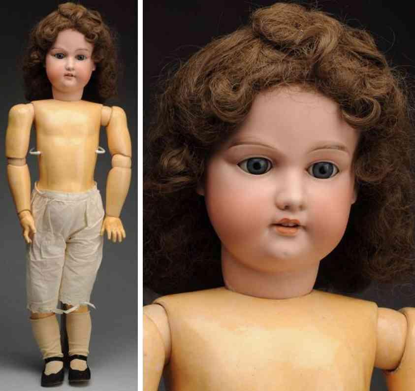 marseille armand A 15 M bisque socket head child doll