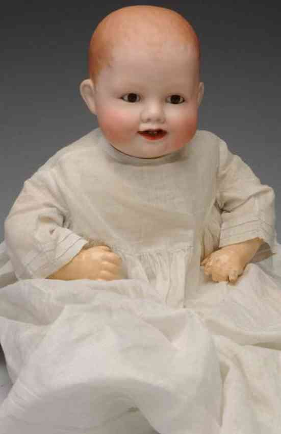 averill manufacturing company 1005/3652.12 porzellankopfpuppe baby