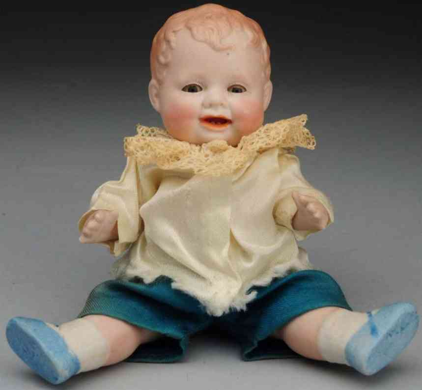 averill manufacturing company all-bisque bonnie-babe doll