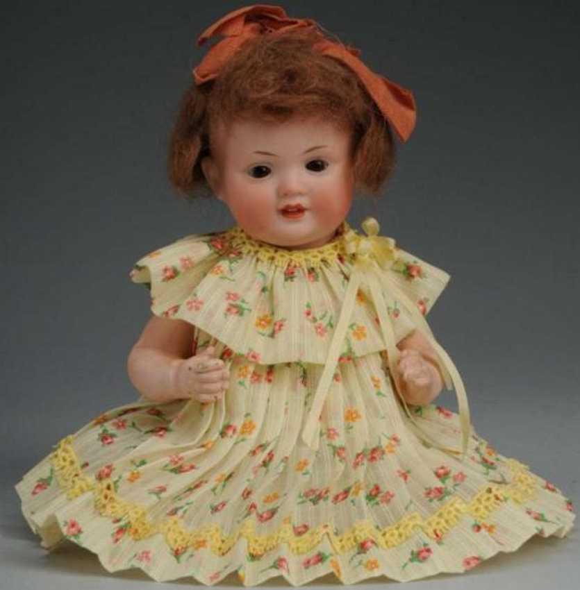 Bahr & Proeschild 585 Bisque head character baby doll