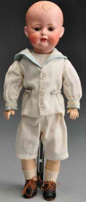 Bahr & Proeschild 623 Bisque socket head character doll