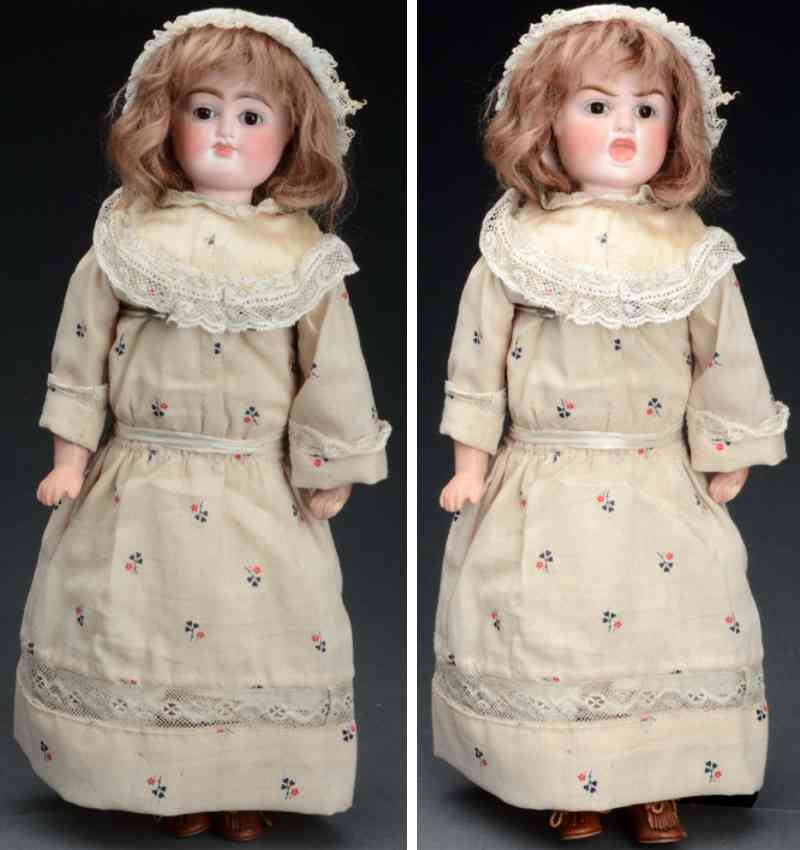 bergner carl multi-faced doll has two face