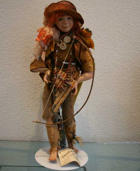 bill maja Peter Pan dolls peter pan number 6093b. limit 25