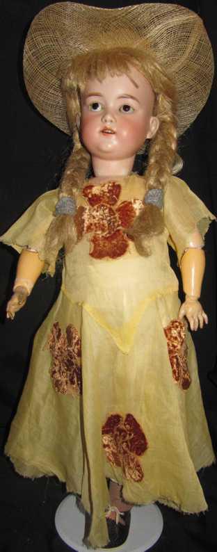 borgfeldt george & co 93  porcelain head doll