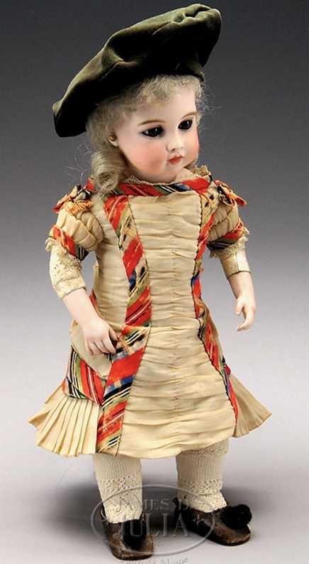 Kreis Punkt Bru französiche Puppe
