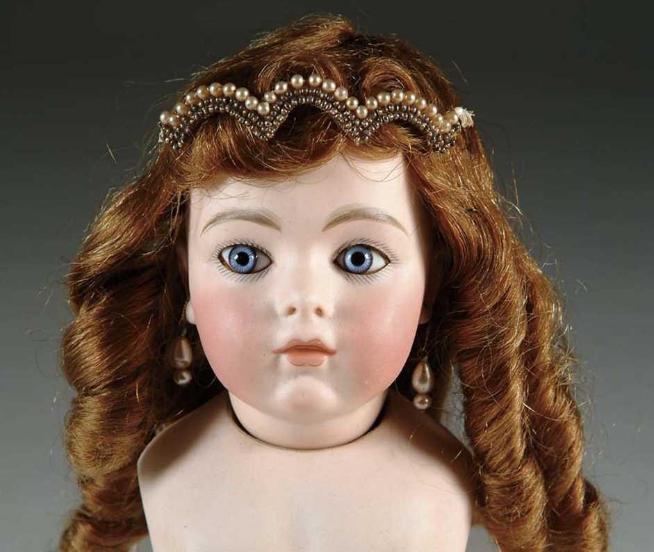 Bru, Jne & Cie 6 Porcelain head doll
