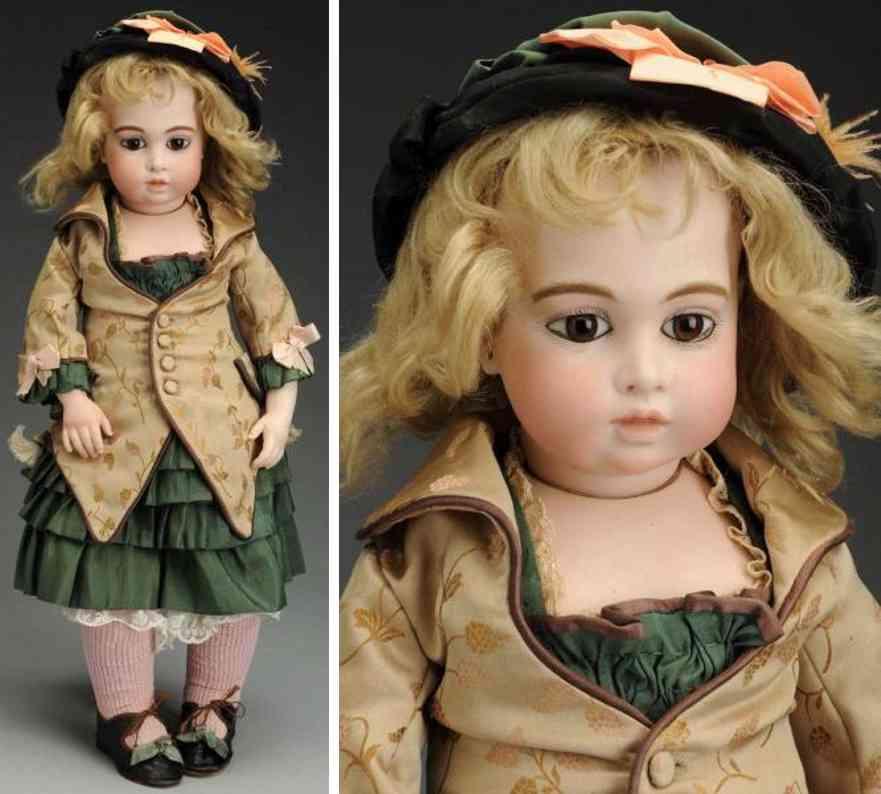 bru jne & cie 7 bisque socket head bebe baby doll