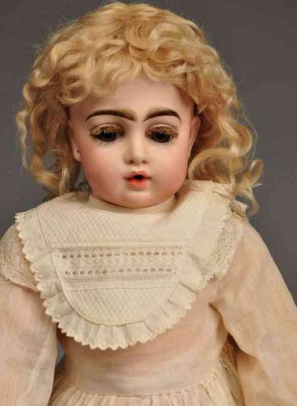 Bru, Jne & Cie 8 Bisque socket head doll