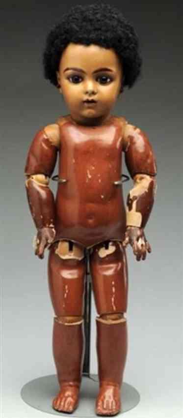 bru jne & cie 9 brown bisque socket head baby doll