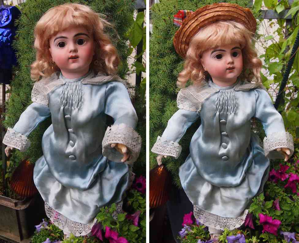bru jne & cie 9 porcelain head doll runnin voice