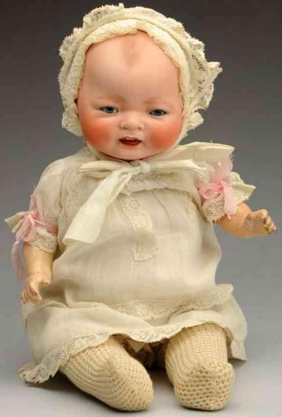 century doll co porzellan baenderpuppe kestner