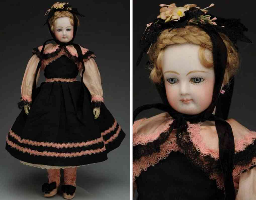 clement victor 2 bisque socket head doll leather body