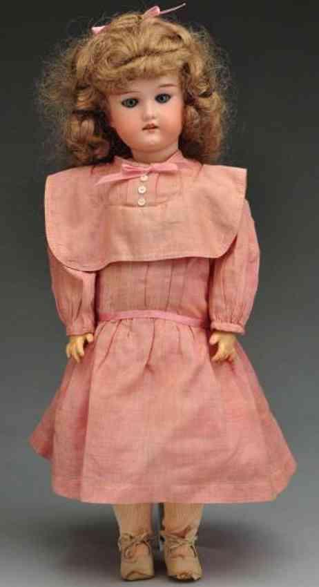 cuno & otto dressel c 3 bisque socket head child doll